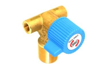 OMB Válvula de tanque cilindrico  LIGHT (CNG) - W28.8 - M12x1