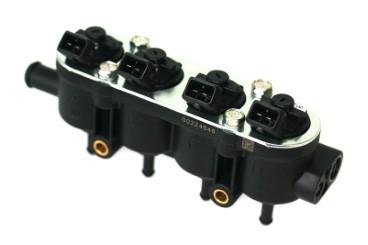 Landi Renzo MED Einspritzrail 4 Zylinder schwarz GI25-65