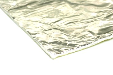 Isolation/Heat protection foil up to 550°C, self-adhesive 50x50cm (5mm thick)