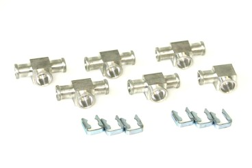 DREHMEISTER injector connector set for Keihin single injectors (6 cylinder in-line engine)