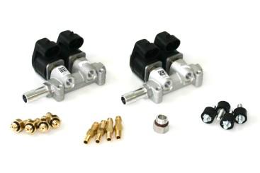 RAIL Injektor LPG CNG IG1 Apache (Giac 01) 2x2 Zylinder (BOXER) 3 Ohm