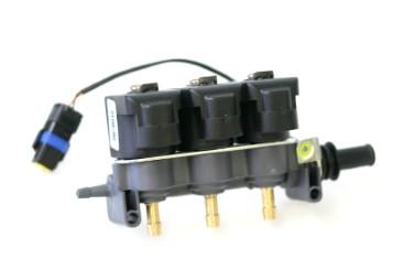 Tartarini Injektor LPG CNG 3 Zylinder EVO08G mit Temperatursensor