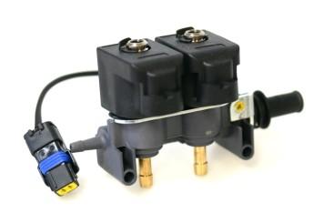 Tartarini Injektor LPG CNG 2 Zylinder EVO08G mit Temperatursensor