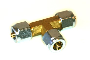 T-Einschraubverschraubung für Flexleitung D6/6/6mm