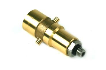 DREHMEISTER Bajonett LPG Adapter M10 - 79,5mm (Edelstahlanschluss)