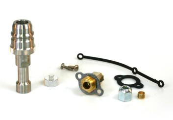 Tomasetto LPG Einfüllstutzen Mini M16 Außengewinde inkl. Euronozzle LPG Adapter