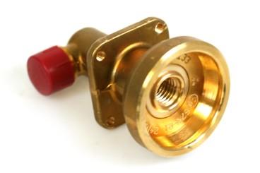 Boquilla de suministro DISH de 90° para repostaje externo para conexión de manguera de llenado