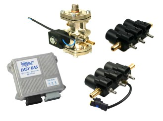 BIGAS SGIS EASY GAS 5-6 Zylinder (mit OBD) LPG/CNG