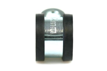 Rohr- & Befestigungsschelle B15mm d.25mm, isoliert (W1)