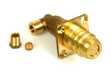 Füllventil Euronozzle für Aussenbetankung (Topf) 90° für 8mm Cu-Leitung
