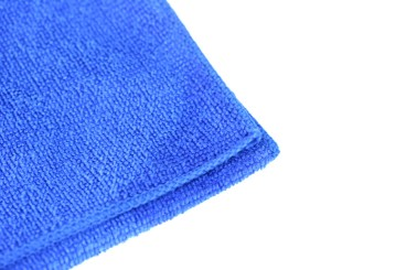 Chiffon microfibre - bleu 400x400mm