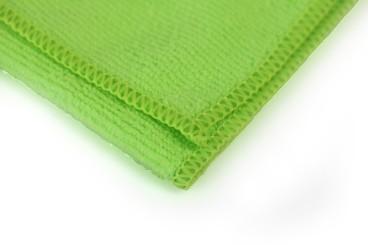 Chiffon microfibre professionnel - vert 400x400mm