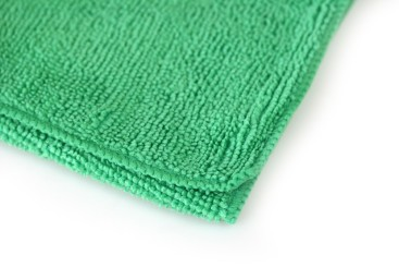 Chiffon microfibre - vert 400x400mm
