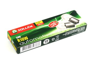 Bulbs 24V R10W long life (10pcs)