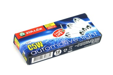 Glühbirne long life 12V C5W (10 Stück)