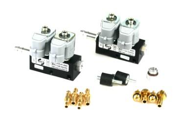 RAIL Injektor LPG CNG IG1 2x2 Zylinder (BOXER) BLACK BODY 2 Ohm (alte Version)
