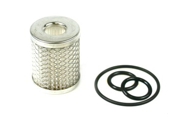 Filter cartridge polyester for Lovato gas filter incl. gasket (gaseous phase)