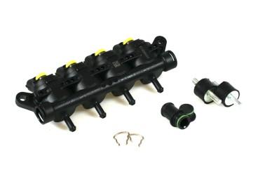Landi Renzo Injektor LPG CNG GIRS12 4 Zylinder XS (Gelb)
