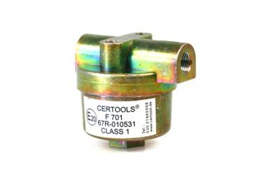 Leitungsfilter F-701 2 x M10x1 (Ø6)