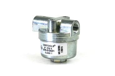 Leitungsfilter F-701 2 x M12x1 (Ø8)