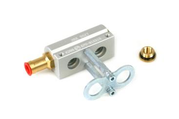 HANA 2 Zylinder Aluminium Injektorleiste für H2001 Injektoren 67R-01