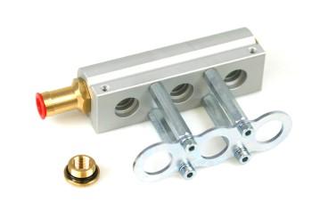 HANA 3 Zylinder Aluminium Injektorleiste für H2001 Injektoren 67R-01