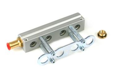 HANA 4 Zylinder Aluminium Injektorleiste für H2001 Injektoren 67R-01