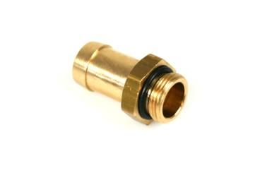 HANA Schlauchverbinder für Aluminium Injektorleiste M14x1 / Ø12,5