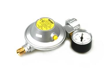 GOK Niederdruckregler 30mbar 1,2kg/h - KLF inkl. Manometer