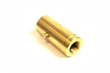 Adaptador de boquilla de suministro Bayoneta para llenado de cilindros de gas de 4 kg - rosca izquierda 3/8