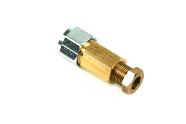 Connector 8 mm copper to 8 mm thermoplastic hose