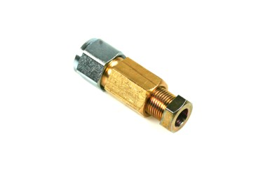 Connector 8 mm copper to 6 mm thermoplastic hose