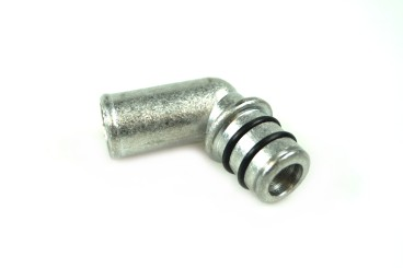 Conexión de agua para reductor BRC incl. junta tórica (aluminio)