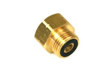 Adaptador de válvula de extracción 21,8 mm a conexión de cilindro