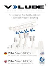 V-LUBE manuel technique de produit allemand+anglais