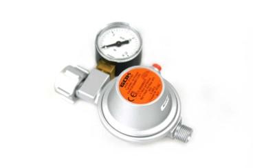 GOK Niederdruckregler 50mbar 1,5kg/h - KLF inkl. Manometer