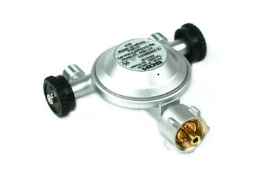 GOK Gasregler EN61 1kg/h 29mbar mit 2 Abgängen