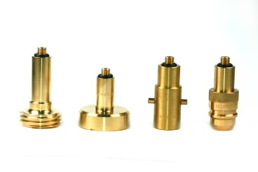 DREHMEISTER adapter set in case for gas cylinder (M10/long)