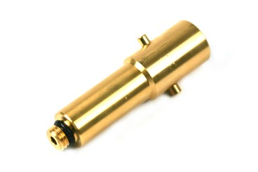 Bayonet filling point adapter 14 mm extra long version (103 mm), brass
