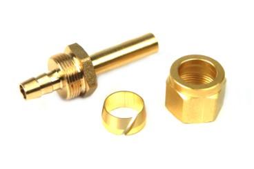 DREHMEISTER Fitting Set 8mm (Rohrstutzen, Überwurfmutter, Schneidring)