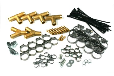 Landi Renzo mounting set 620583000 for 8 cylinders sets