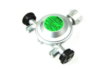 GOK Gasregler EN61 1kg/h 50mbar mit 2 Abgängen