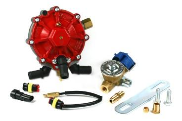 AC Verdampfer R01 bis 185KW inkl. Absperrventil und Montagezubehör