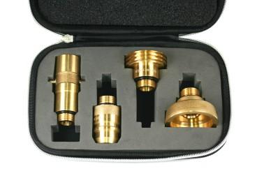 DREHMEISTER LPG Adapter Set inkl. Etui (W21.8)