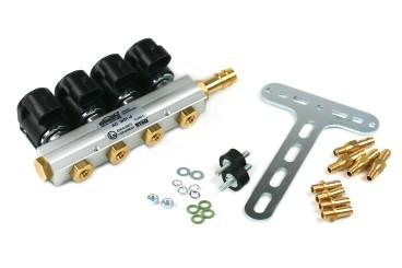 AC rampa de inyección W01-4 de 4 cilindros incl. material de montaje