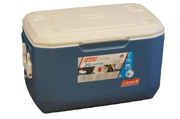 COLEMAN Xtreme Series cooler 66 litres capacity, cooling performance 5 days