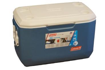 COLEMAN Serie Xtreme raffreddatore da 66 litri, capacità di raffreddamento 5 giorni