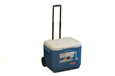 COLEMAN Xtreme Series wheeled cooler 47 litres, cooling performance 5 days, telescopic handle