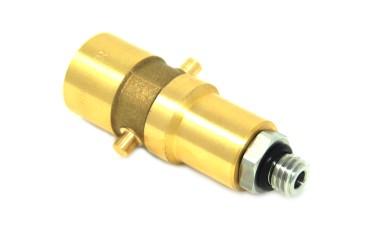 DREHMEISTER Bajonett LPG Adapter M12 - 79,5mm (Edelstahlanschluss)