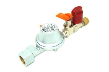 GOK Regleranlage 30 mbar EN61- 1kg/h  Komb.Ax UV/SKU X RVS 8 mm